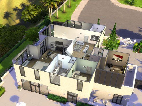 Debitcard S Celebrity Home Of Demi Lovato Celebrity Houses City Living Sims 4 Houses