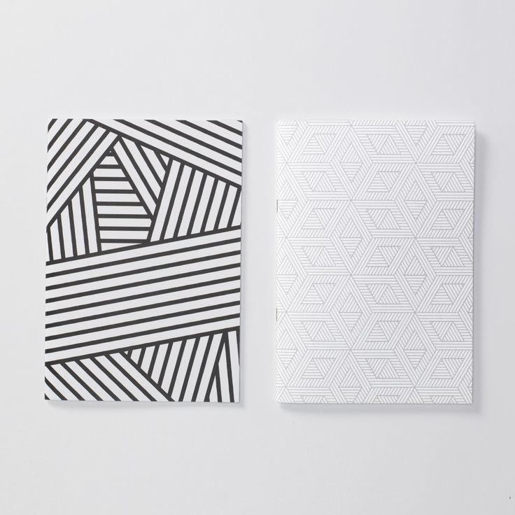 Evermade geometric notebooks