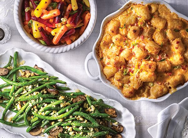 thanksgiving sides no dairy