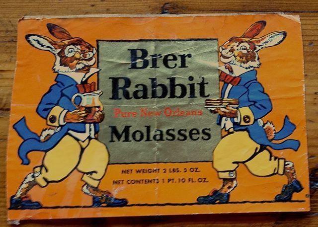 Colorful Brer Rabbit Pure New Orleans Molasses Label | eBay