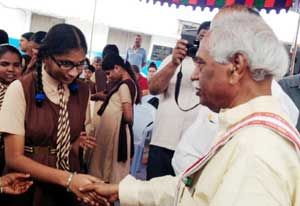 Training required for Blind and Visually Impaired Individuals: Bandaru Dattatreya