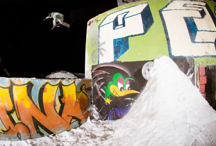Remote Flash Photography and Street Snowboarding