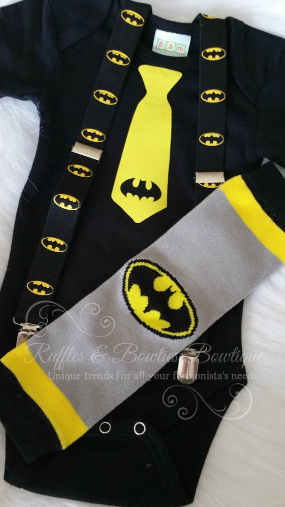 Batman Onsie/Birthday Oneslie