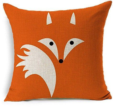HT&PJ Decorative Cotton Linen Square Throw Pillow Case, now $13 It's Friday, here's a bit of whimsy for your couch! Did I really buy this? Yes, yes I did.