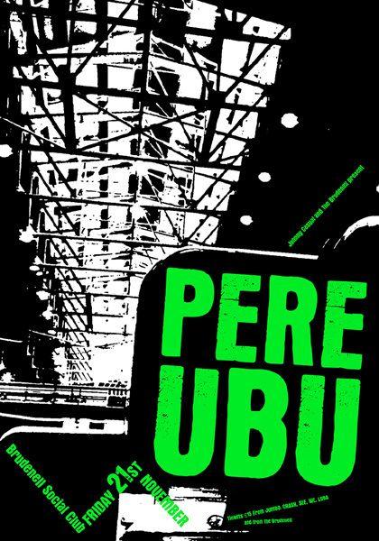 GigPosters.com - Pere Ubu