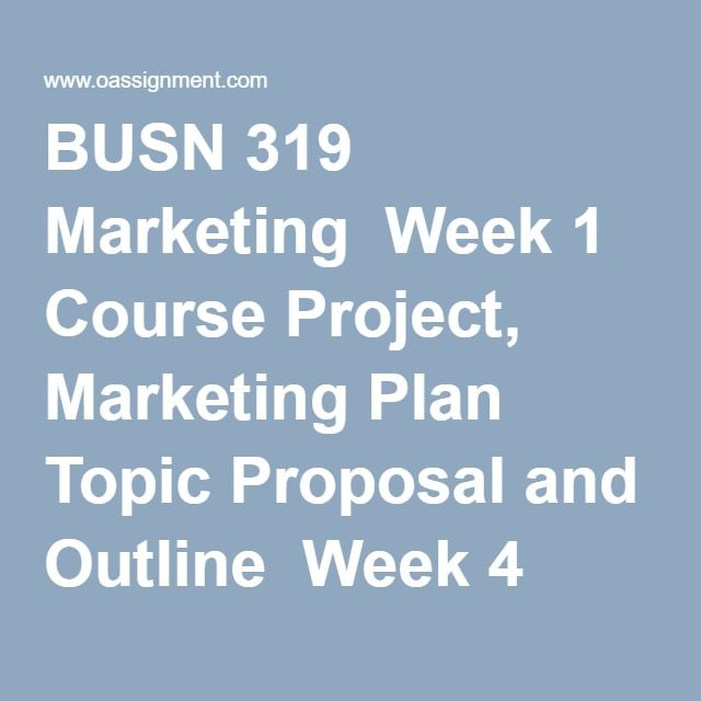 course project marketing plan Msc in marketing strategy & innovation at cass business school in london this  course is perfect for anyone wishing to pursue a career in marketing.