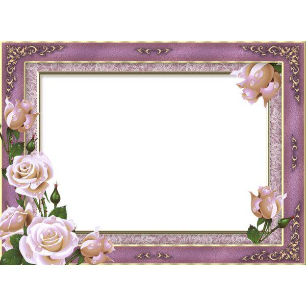 Purple Rose Frame Purple rose frame like...