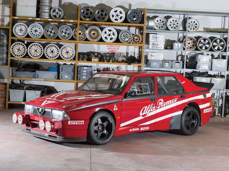 1987 Alfa Romeo 75 Turbo Evoluzione IMSA 'Ufficiale' | Duemila Ruote 2016 | RM Sotheby's