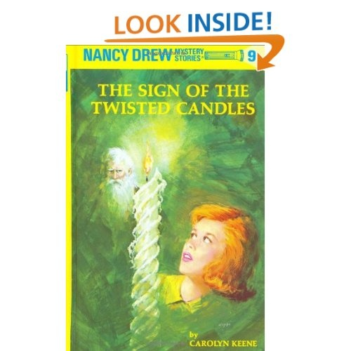 Amazon.com: The Sign of the Twisted Candles (Nancy Drew, Book 9) (9780448095097): Carolyn Keene: Books