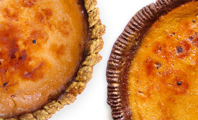 Bruleed pumpkin pies v1