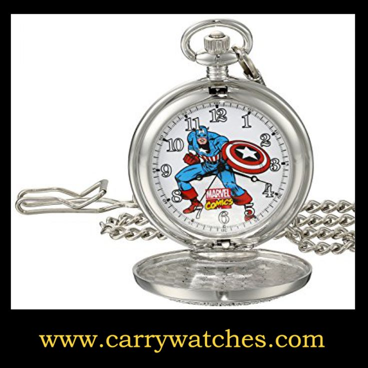 Marvel Men's Captain America W001741 Analog-Quartz Pocket Watch https://www.carrywatches.com/product/marvel-mens-captain-america-w001741-analog-quartz-pocket-watch/ Marvel Men's Captain America W001741 Analog-Quartz Pocket Watch