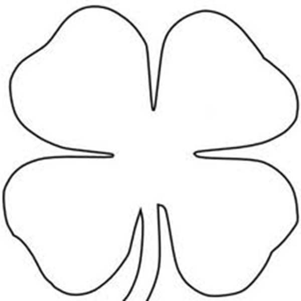 Fourleaf Clover Sheats Coloring Page Color Luna Coloring Pages