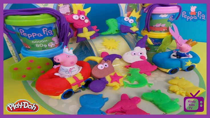 Play Doh. Peppa Pig. Peppa's Castle Dough Play Set.