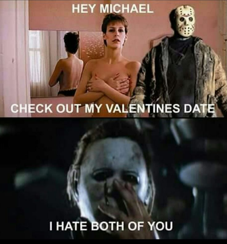e902b408be6ea2d1b76d7eea16135fc3 movie memes michael myers 221 best valentine's creepy images on pinterest horror films