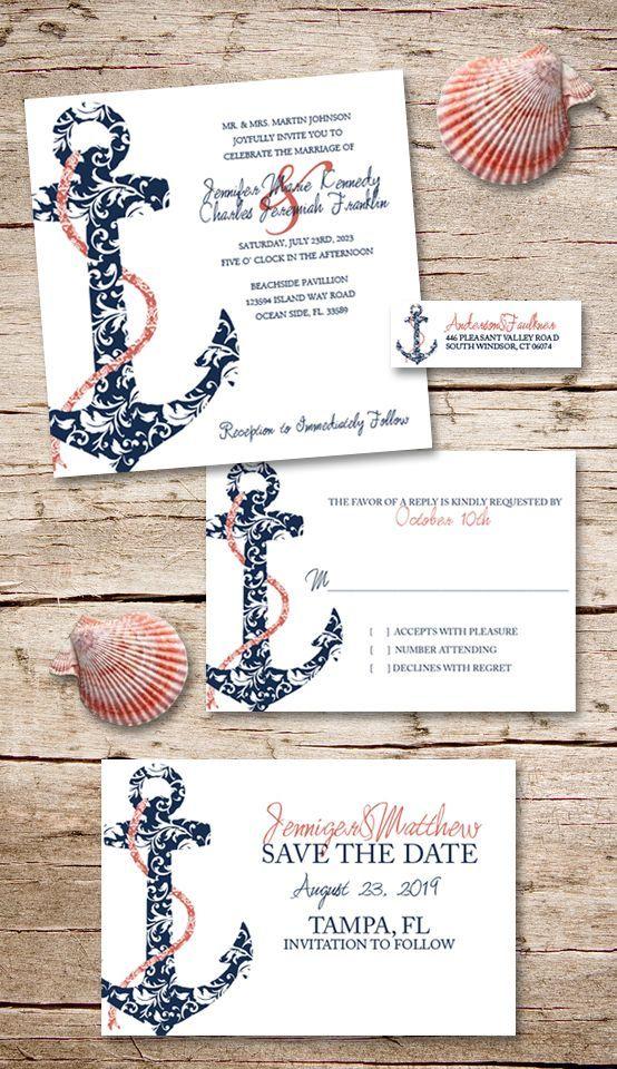106 best Wedding RSVP Response Cards images on Pinterest | Invites ...