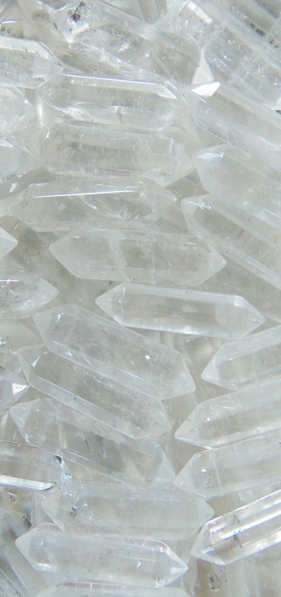 clear quartz pendants for jewelry making, wire wrapping, diy, reiki, healing, meditation, home decor, feng shui, arts and crafts, gypsy accessories and more. Only $2.50 each www.BubblegumGraffiti.com