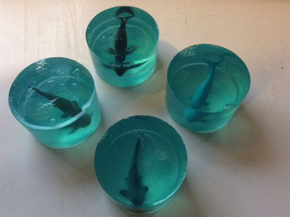 Sea Creature Soap by RiversMouthCrafts on Etsy