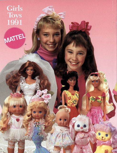 Omg my first Barbie Hawaiian fun is on the right!!! Midge wedding on the left!!! 90s dream!!! :) #mattel #90s #barbie