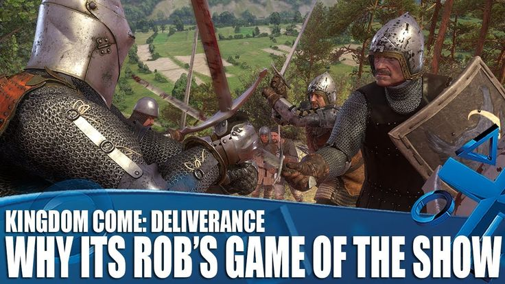 [Video] Kingdom Come: Deliverance - Why It's Rob's Game Of The Show #Playstation4 #PS4 #Sony #videogames #playstation #gamer #games #gaming