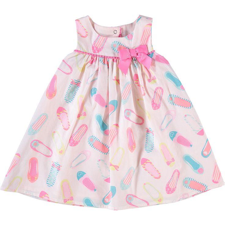 polkatots powder pink ballerina flats dress tk maxx