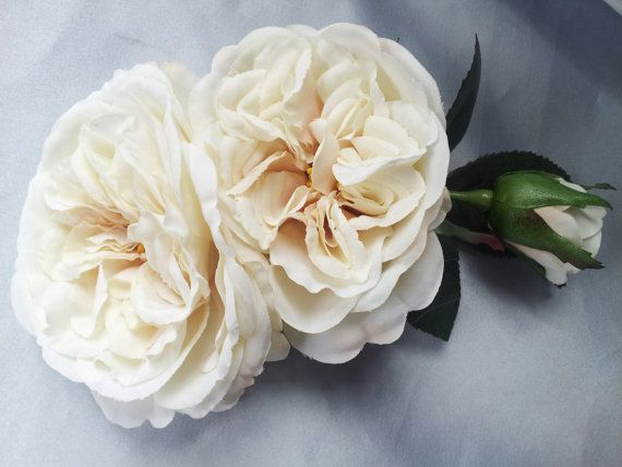 White Garden Rose Hair best 25+ bridal hair roses ideas on pinterest | wedding hair roses