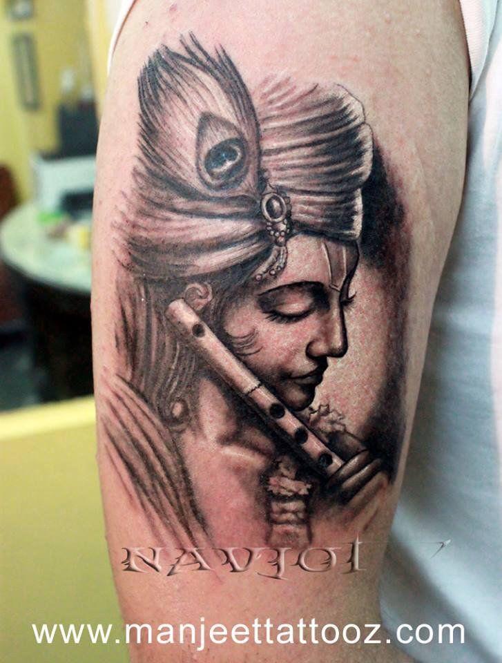 Krishna Tattoo Buscar Con Google Tatuajes Krishna Tattoo