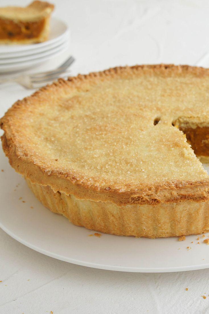 Aussie Gramma Pie by abrarose is an Aussie take on a pumpkin pie. Perfect for Halloween!