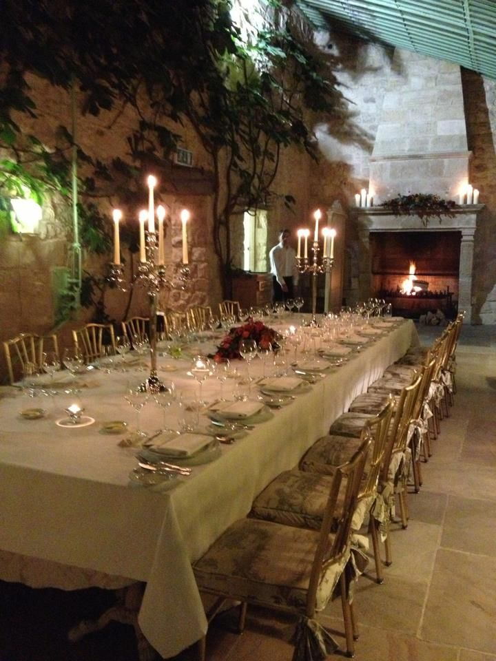 Private Dinner Reception For An Intimate Wedding At The Village Lyons Kildare Ireland