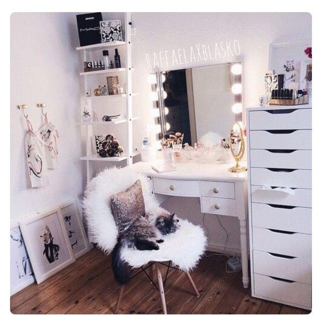 78 ideen zu schminkaufbewahrung auf pinterest makeup organisation nagellack aufbewahrung und - Tumblr zimmer ikea ...