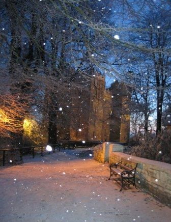 Christmas in Ireland, Bunratty Castle - 15th century tower house in County Clare, Ireland