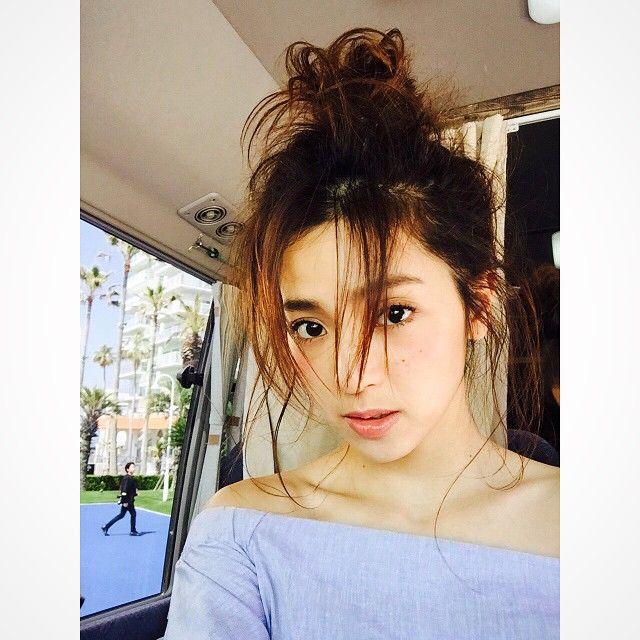 おフェロヘアの鉄板♡中村アンちゃんのかきあげヘアについて知りたい!SHERYL [シェリル] | ファッションメディア