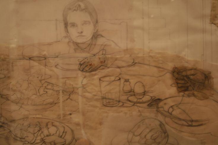 Antonio Lopez Garcia study