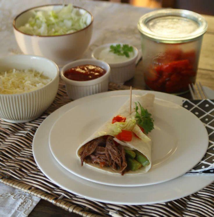 Mexican Shredded Beef (zerzupftes Rindfleisch)