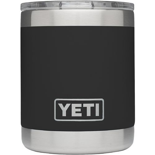 Yeti Rambler 10 oz Lowball Black - Thermos Cups And Koozies at Academy Sports