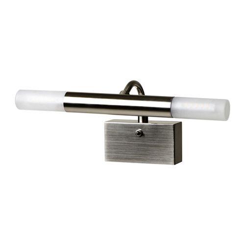 ГЛОМБО Подсветка зеркала для ванной IKEA Рассеянный свет обеспечивает хорошее общее освещение.