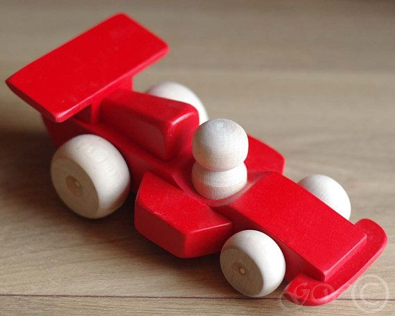 how to make wooden race car
