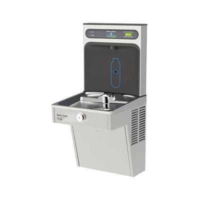 Halsey Taylor HydroBoost Barrier Free 8 GPH Vandal Resistant GreenSpec with Bottle Filling Station Refrigerated Drinking Fountain-HTHB-HVRGRN8-WF - The Home Depot