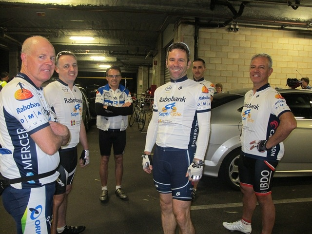 #Supercycle about to leave the Basil Hetzel Institute on Stage 1