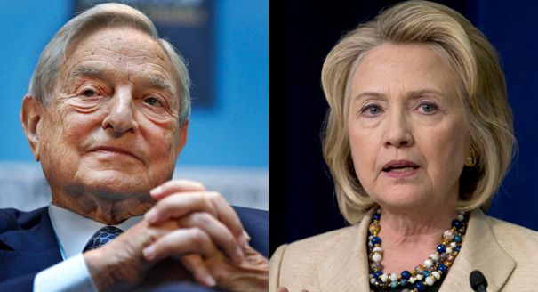 George Soros going to bat for Hillary Clinton - Mr One World Government is supporting Hillary, what a shock.