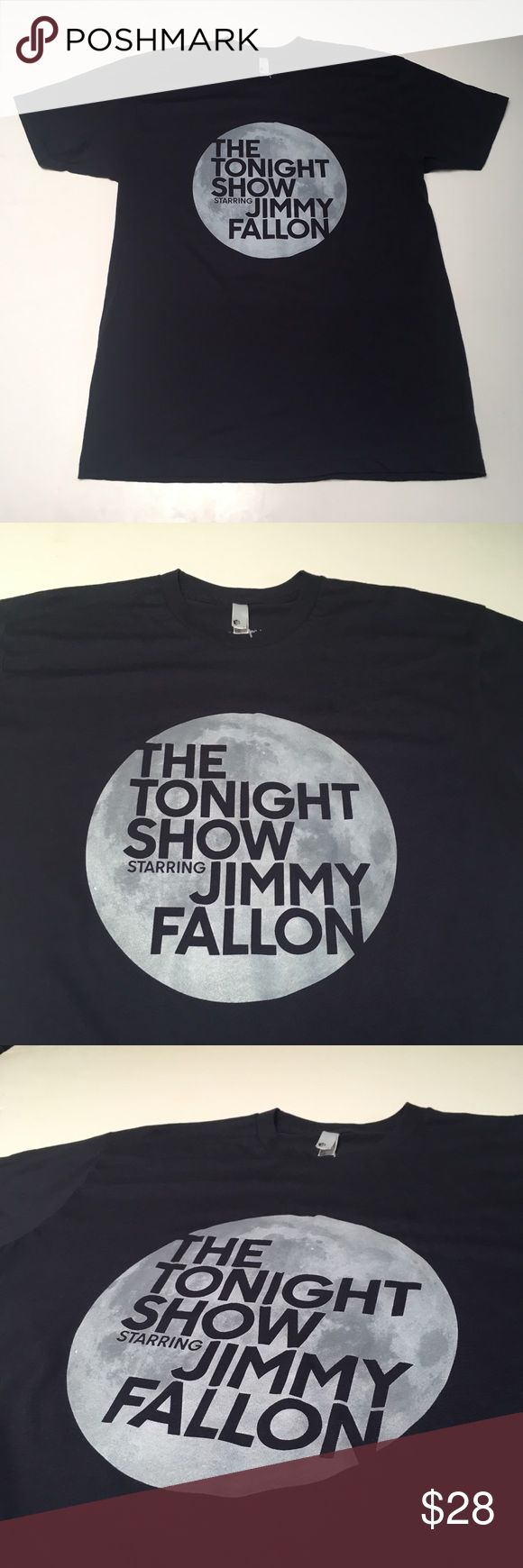 The Tonight Show Jimmy Fallon official The Roots Nights are better with Jimmy Official NBC merchandise Brand new condition - minor blemish noted in pics  Please check measurements in pics for fit reference.     Smoke and pet free storage  Happy to answer any questions    Thanks for looking American Apparel Shirts Tees - Short Sleeve