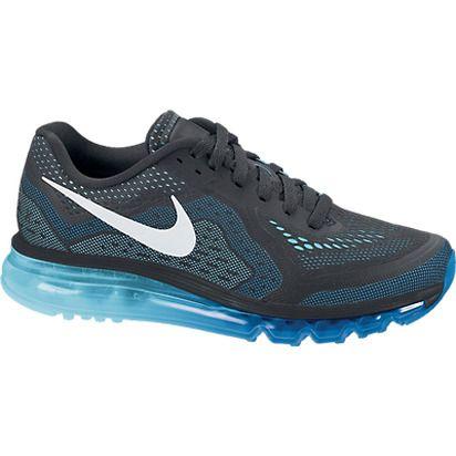 Nike Men's Air Max 2014 Running Shoe - Anthracite/Blue