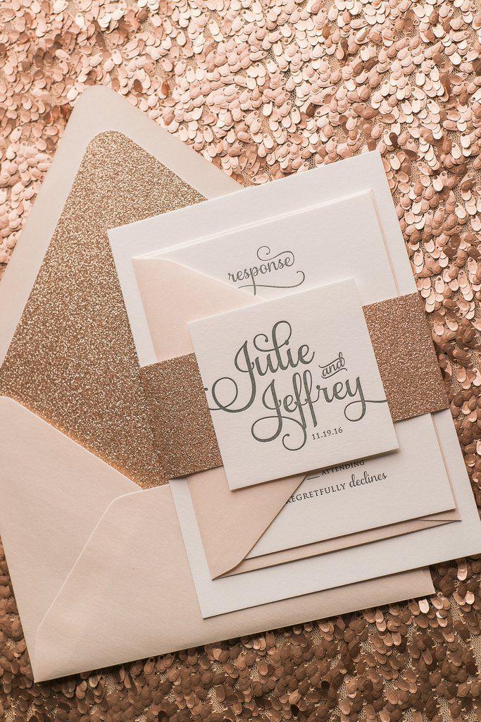 bilderesultat for bryllupsinvitasjoner rose glitter praha i 2018
