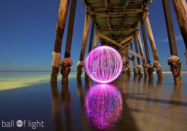 ball of light / long exposure