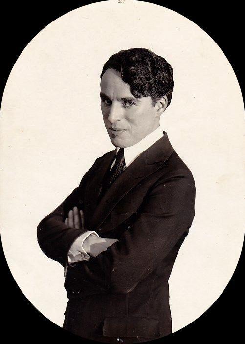 Charlie Chaplin circa 1918.