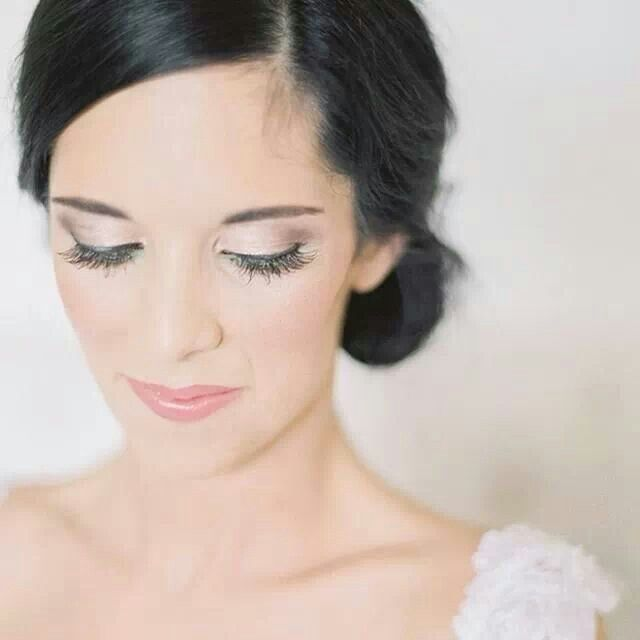 Beautiful subtle hints of mint and pearls tones for Leanie's Wedding Makeup.  Makeup by Charelle-www.facebook.com/MakeupByCharelle Hair by Laura Halgreen Location-Netherwood, Nottingham Road.