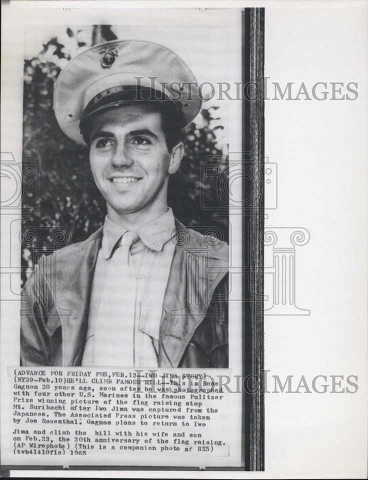 1965 Press Photo rene Gagnon Us Marines Pulitzer Prize winning picture