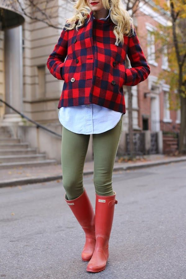 1000  images about Hunter Rain Boots Fashion on Pinterest | Hunter