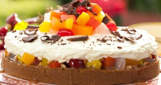 Fruity Caramel Pie Recipe | Panlasang Pinoy Recipes