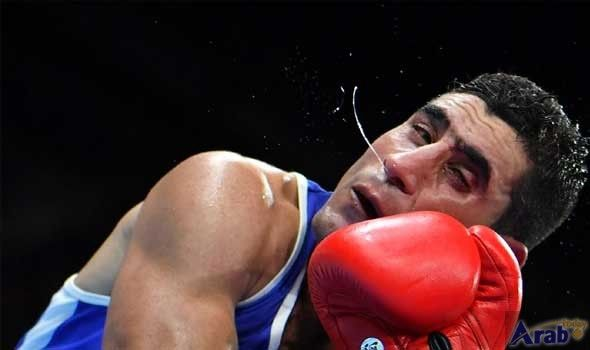 Iraqi soldier-boxer proud in Rio defeat