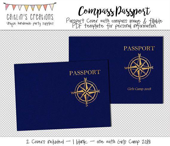 The 25+ best Passport template ideas on Pinterest Passports for - passport template
